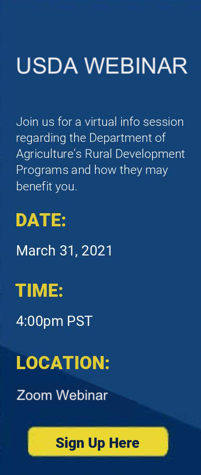 Sign up for the USDA webinar, Mar. 31st, 4pm